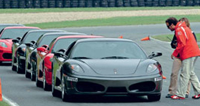 Ferrari вроссийских условиях