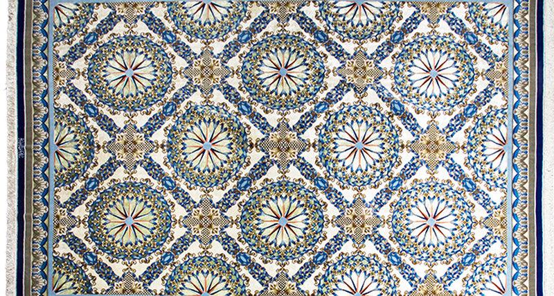 Уникальный ковёр изколлекции Исфахан всалоне Dovlet House