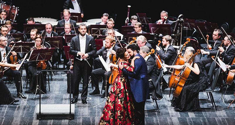Концерт Анны Нетребко иЮсифа Эйвазова приподдержке Chopard