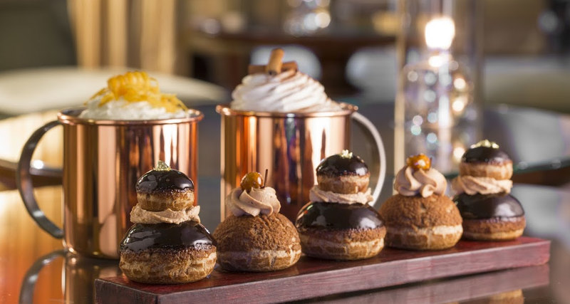Первый шоколадный бар отЖоэля Робюшона вотеле Metropole Monte-Carlo