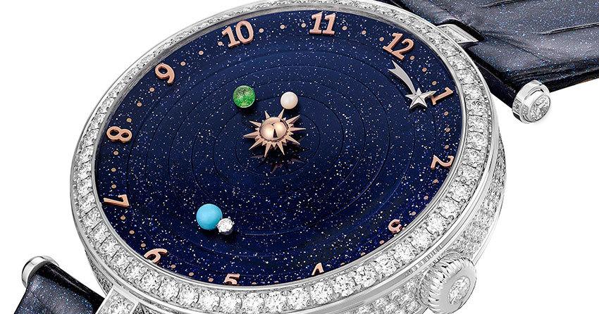 Звёздное небо и зодиакальные символы от Van Cleef & Arpels