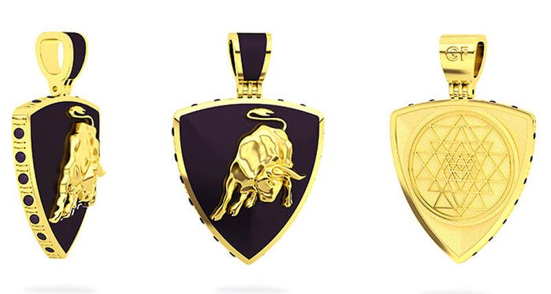 Лимитированная коллекция мужских ювелирных украшений «Inspired by Lamborghini»