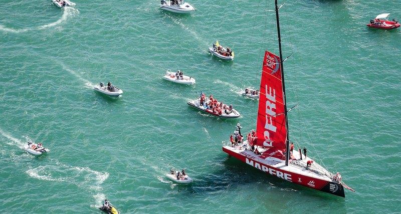 Volvo Ocean Race глазами очевидца