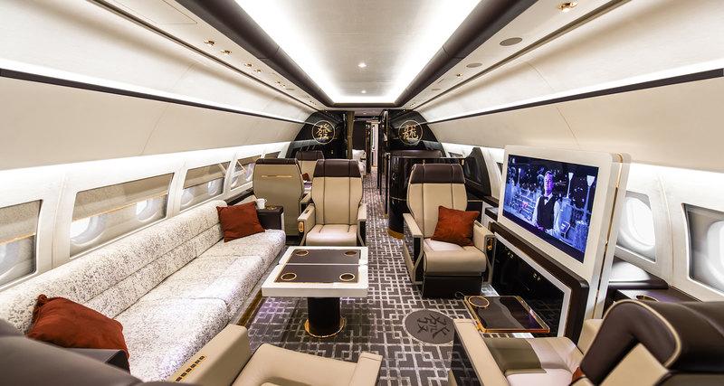 Airbus Corporate Jet Centre представил новую VVIP кабину