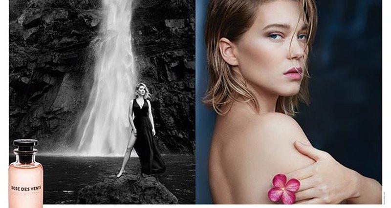 Первая парфюмерная линия Les Parfums Louis Vuitton сЛеей Сейду