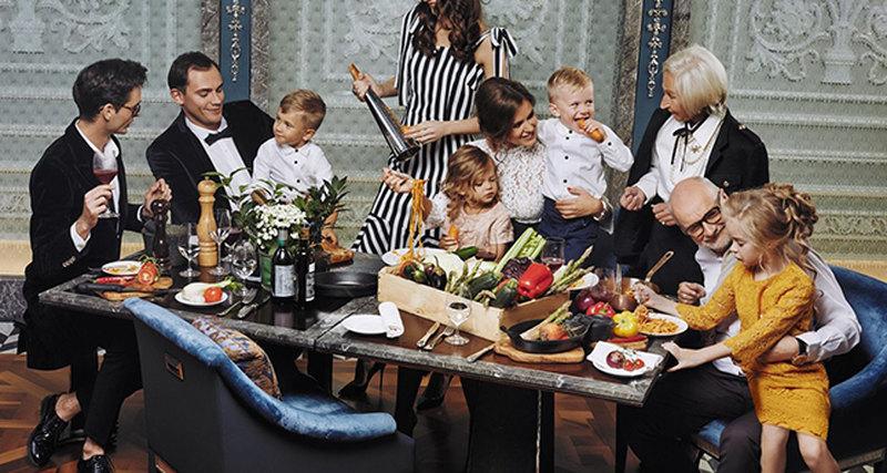 Воскресные семейные обеды вресторане Percorso