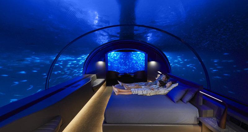 Muraka - первая вмире резиденция подводой