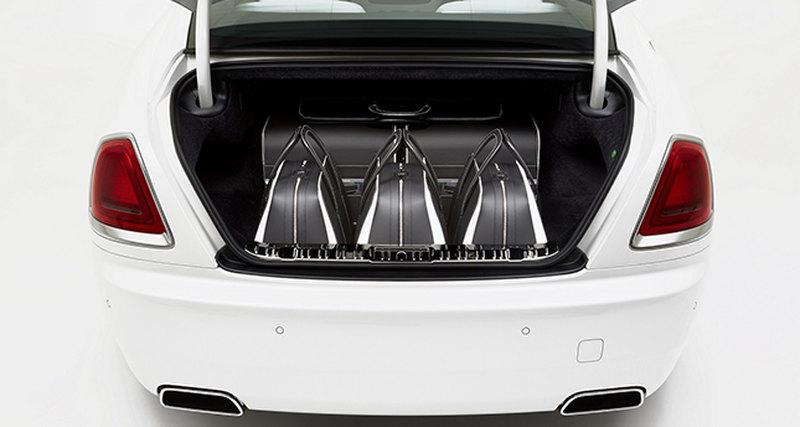 Коллекция багажных аксессуаров дляRolls-Royce Wraith