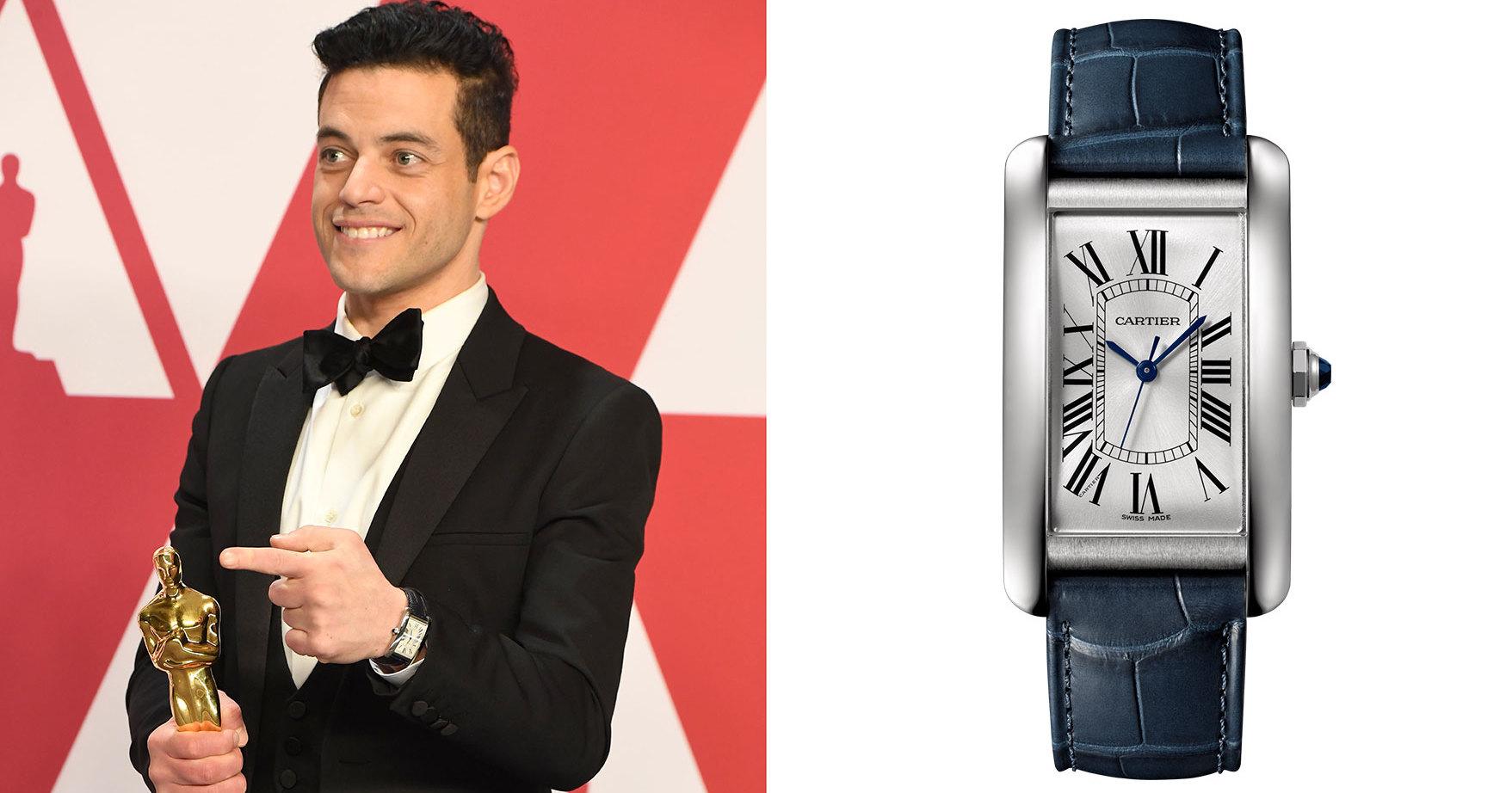 Мужские часы на ковровой дорожке «Оскара-2019»