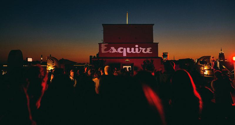 В Москве прошла презентация литературного номера инового арт-проекта Esquire