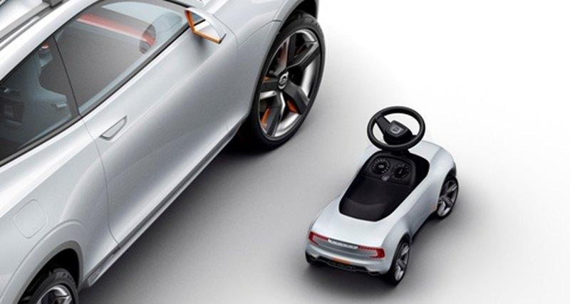 Volvo представил версию Volvo Rider длямаленьких гонщиков