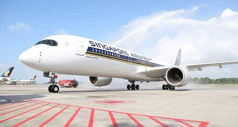 Airbus A350-900 пополнил парк «Сингапурских Авиалиний»