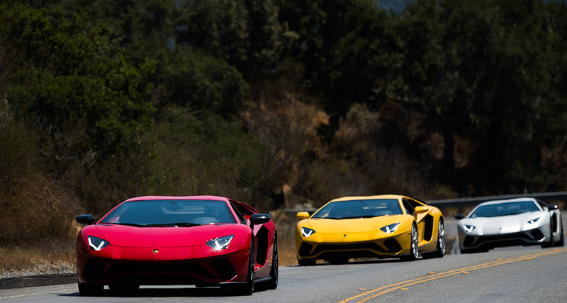 Lamborghini радуют своих поклонников новинками