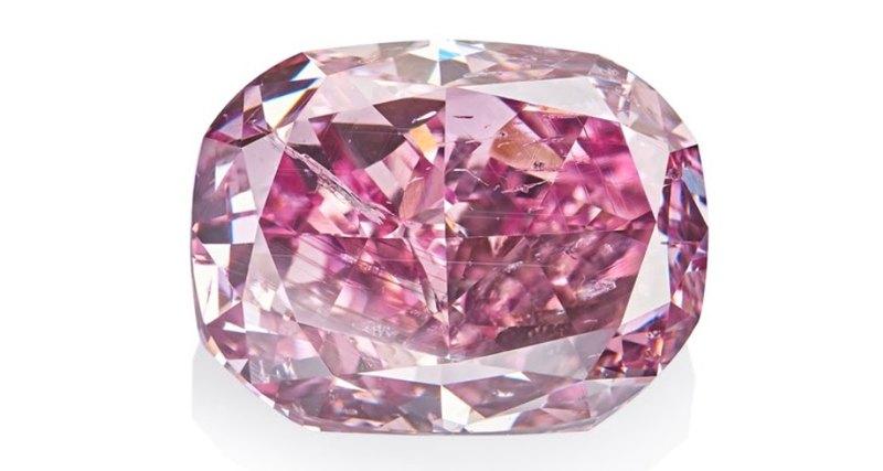 «Алроса» покажет крупнейший вмире сиреневый бриллиант