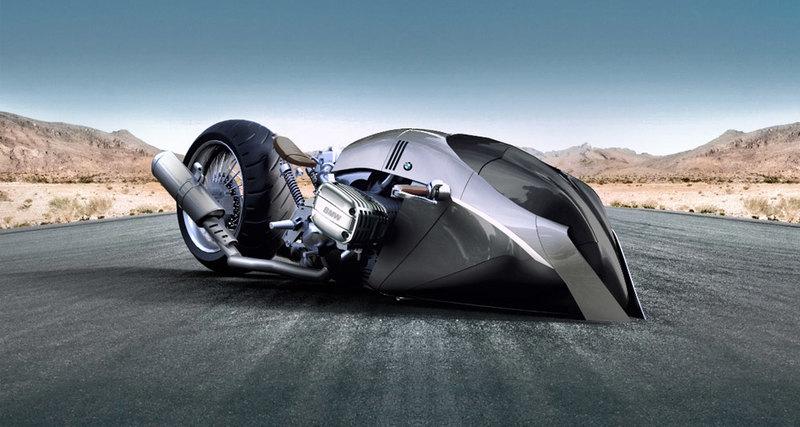 Футуристичный концепт мотоцикла BMW