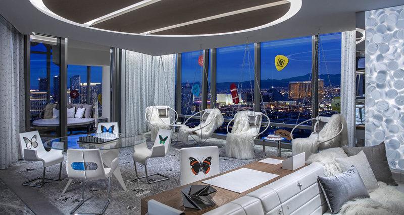 В Лас-Вегасе построили суит, дизайном которого занимался Дэмиен Хёрст