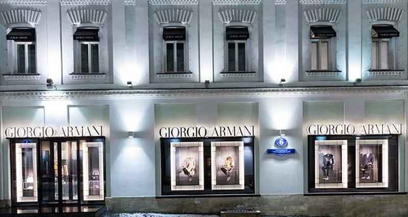 Джорджо Армани посетит Москву