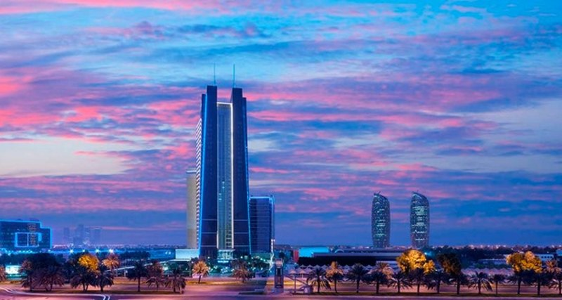 Новогодние торжества сDusit Thani Abu Dhabi