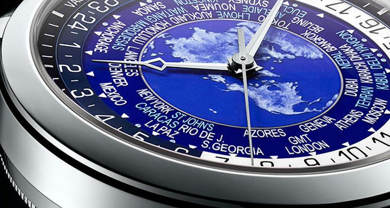 Новые часы Vacheron Constantin сфункцией мирового времени
