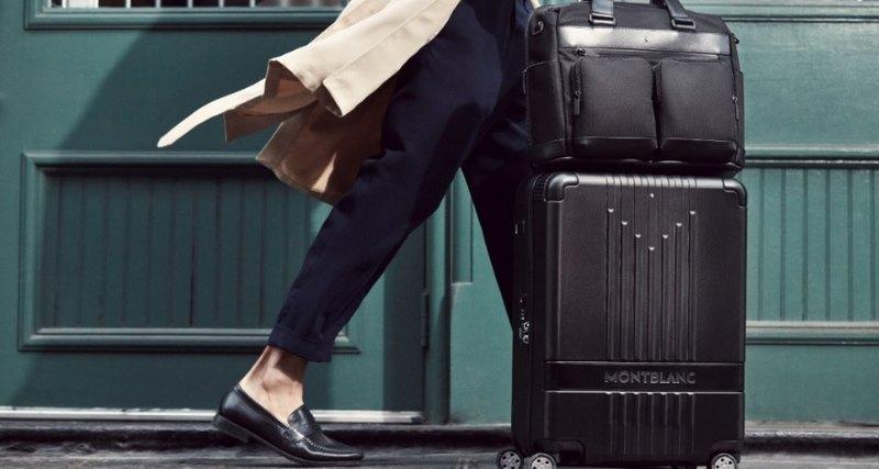 Начните новое путешествие вместе сколлекцией чемоданов Montblanc #MY4810