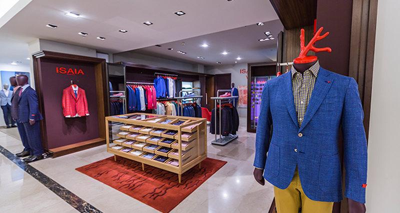 Открытие нового магазина Isaia вТД Весна наНовом Арбате