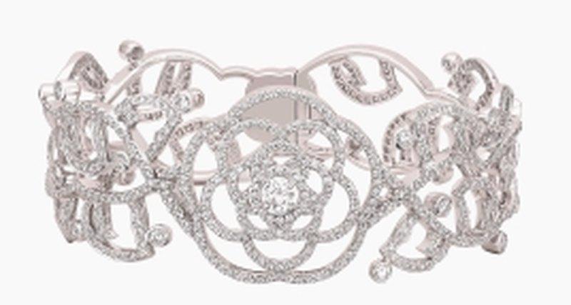 Браслет Chanel скамелией