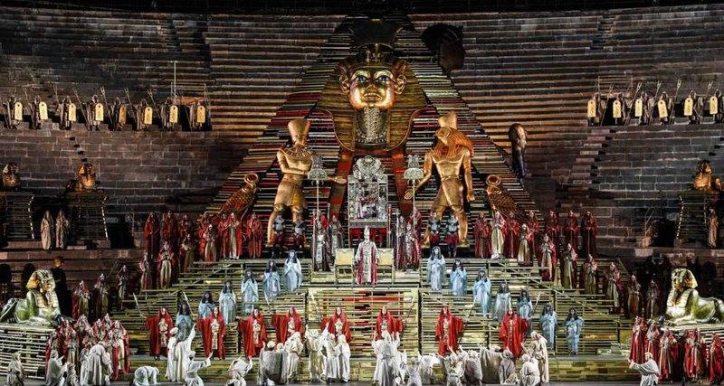 Оперный фестиваль вВероне