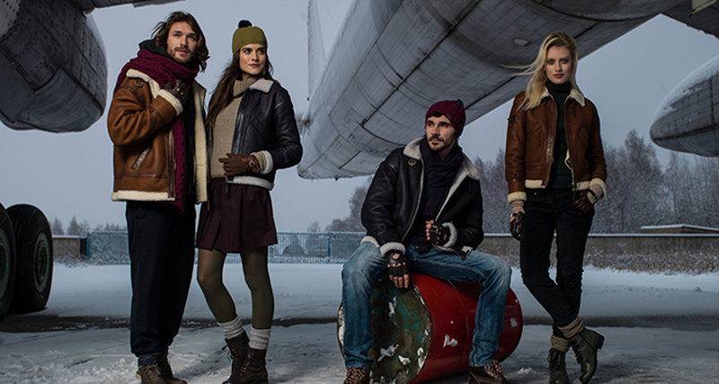 Куртки российского бренда Chkalov