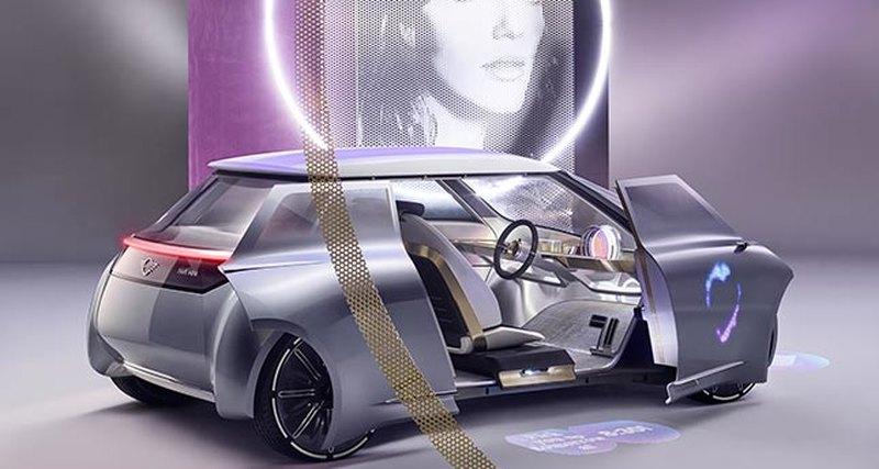 Концепт-кар Mini Vision Next 100