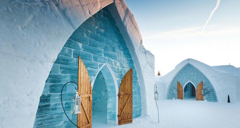 Холодный прием: 4 отеля изснега ильда