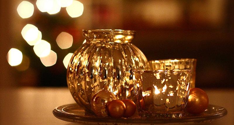 Ароматические свечи длявстречи Нового года