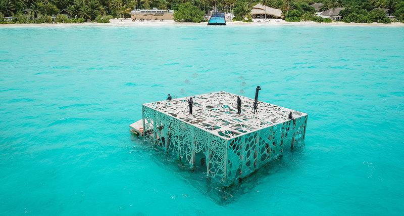 На Мальдивах построили люксовый дом длякораллов