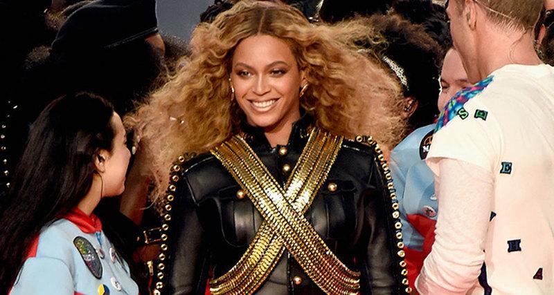 Выступление Beyonce наСуперкубке 2016