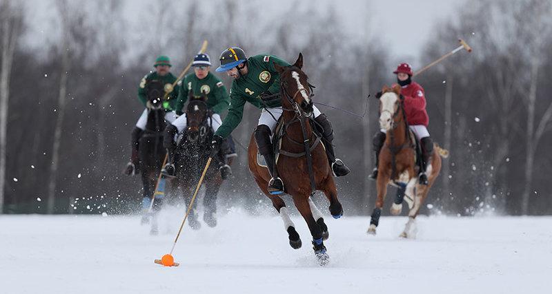 В «Московском поло клубе» открылся зимний игровой сезон