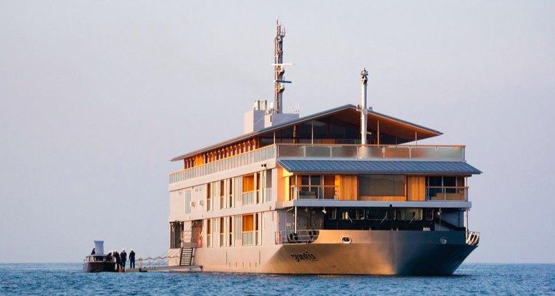 В картинках: плавучий отель вЯпонии