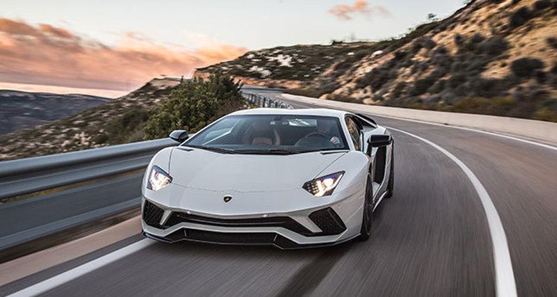 Первый глобальный тест-драйв Lamborghini Aventador&nbspS
