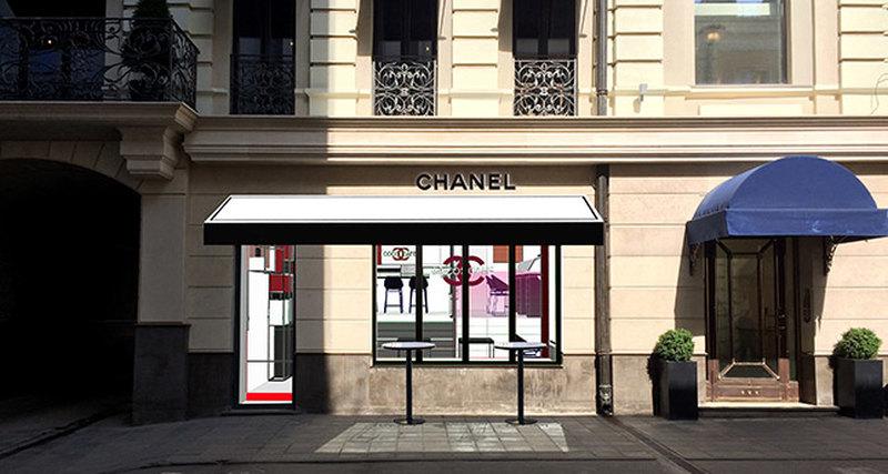 Chanel открывает первый парфюмерно-косметический поп-ап бутик