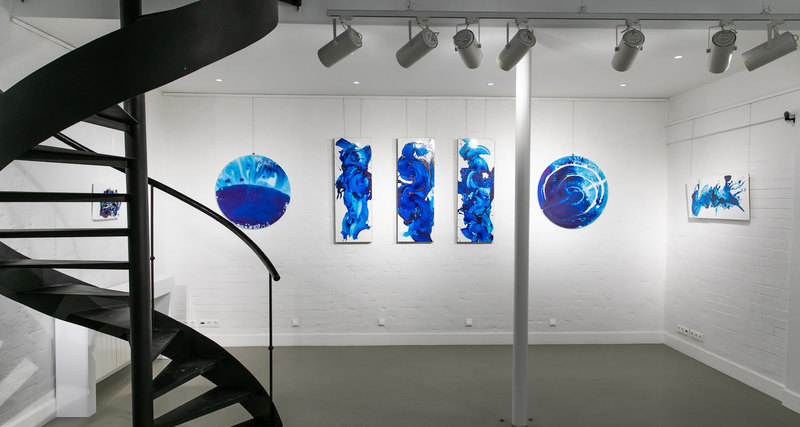 В Москве прошел предпоказ новых работ швейцарского художника Конора Маккриди