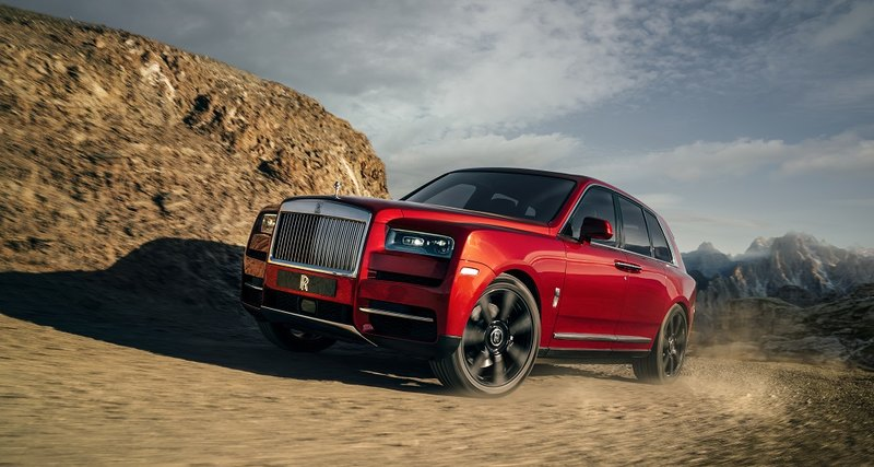 На Rolls-Royce побездорожью