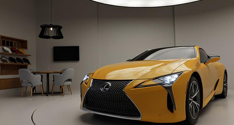 Открытие Lexus Dome