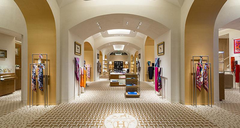 Открытие обновленного бутика Hermès вГУМе