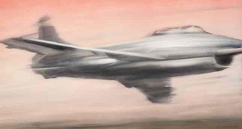Реактивный истребитель Герхарда Рихтера (25-35 млн $) нааукционе Phillips