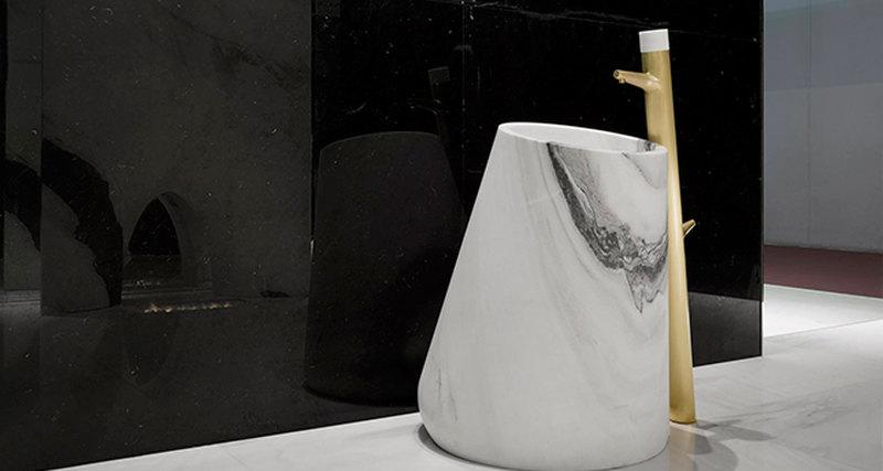 Мраморная капля - раковина коллекции «Macchia Vecchia»