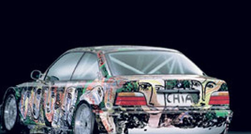 BMW Art Cars: изящное искусство драйва