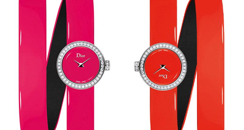 Новинка Dior Horlogerie - La Mini D de Dior Wraparound