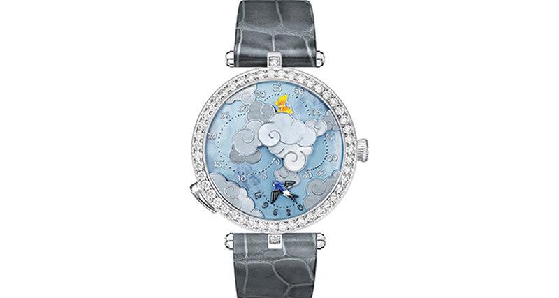 Премьера часов Lady Arpels Ronde des Papillons дома Van Cleef & Arpels