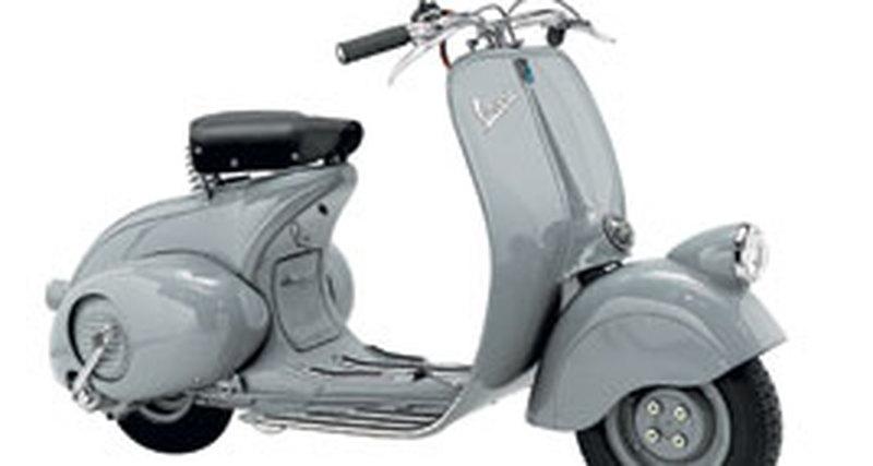 Скутер эпохи «Римских каникул»