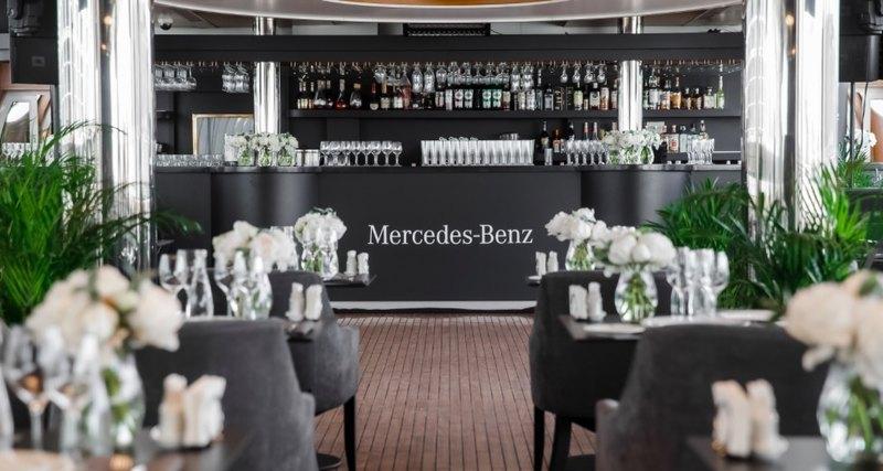 Путешествие поМоскве сMercedes-Benz