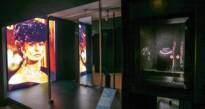 Великолепие стиля Bulgari вНациональной галерее Виктории вМельбурне