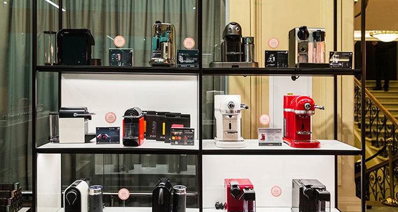 Открытие бутика Nespresso вГУМе